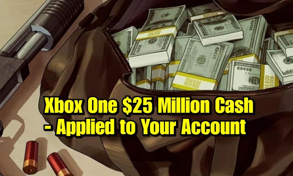 $75 - XBOX - 25 Million Cash Only (Applied to Your Account) cover