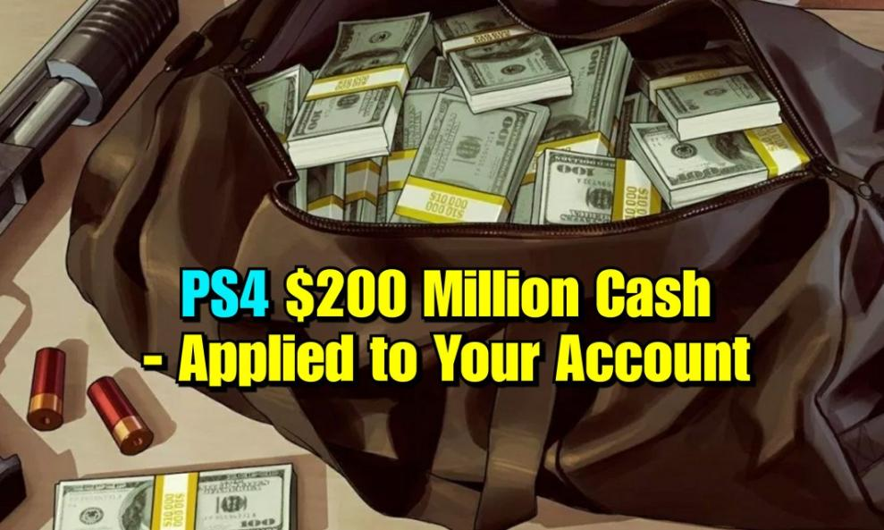 $160 - PS4/PS5 - 200 Million Cash Only (Applied to Your Account) cover
