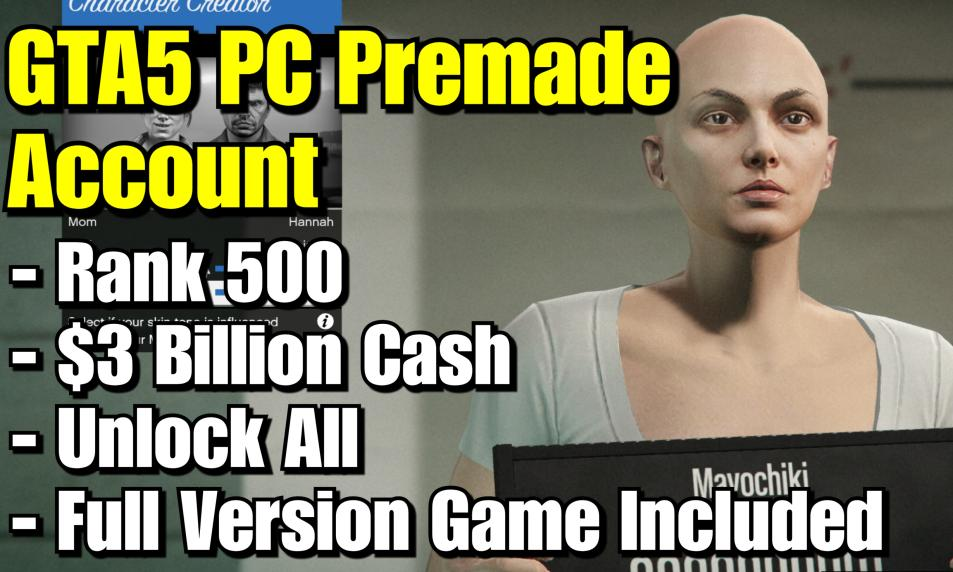 $45 PC Premade Account (Full Version Game Included) cover