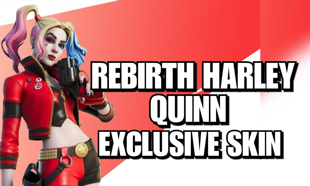 $55 - Harley Quinn Rebirth Exclusive Skin Code (E-mail Delivery) cover