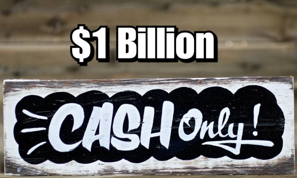 $75 - PC 1 Billion Cash (Applied to Your Account) cover