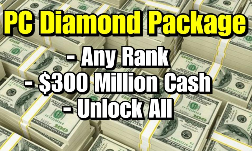 $60 - PC Diamond Package (Applied to Your Account) cover