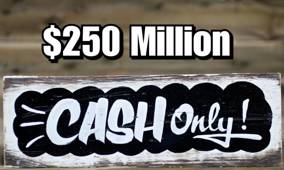$50 - PC 250 Million Cash (Applied to Your Account) cover