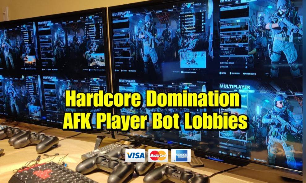 HC Domination Multiplayer AFK Player Lobby cover