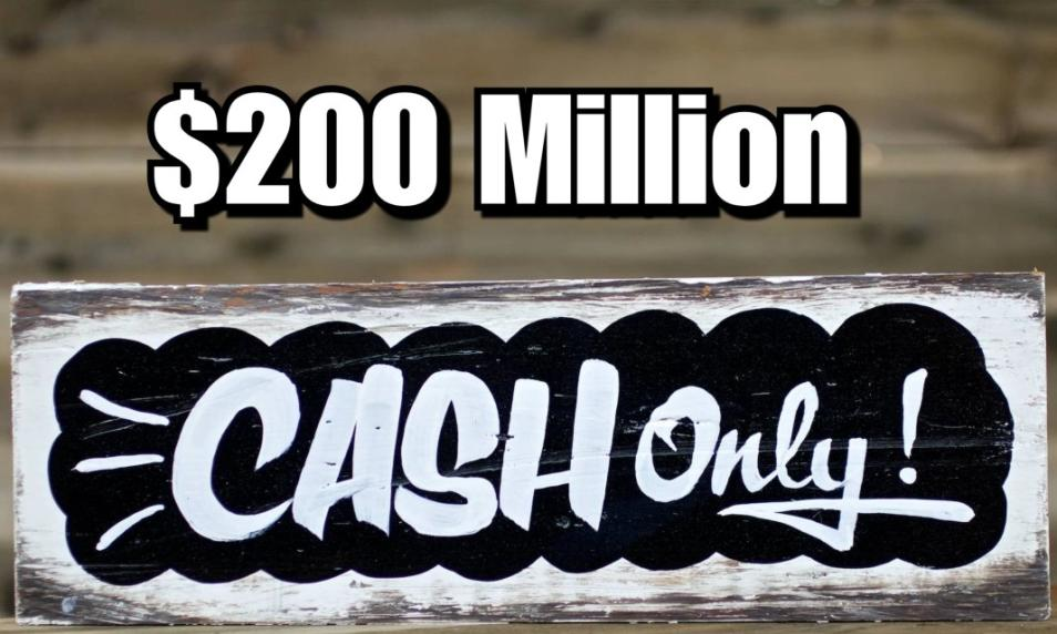 $40 - PC 200 Million Cash (Applied to Your Account) cover
