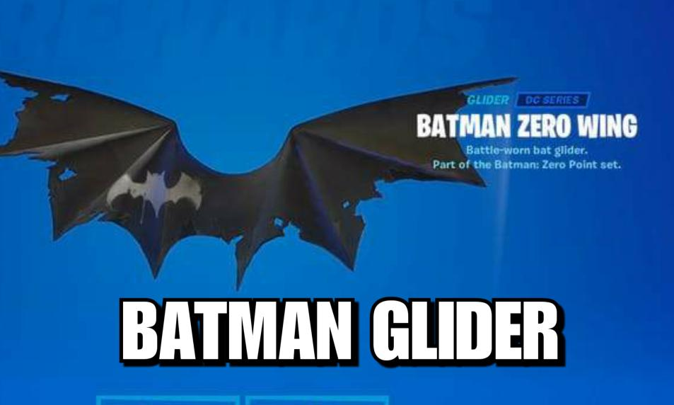 $40 - Batman Zero Wing Glider Exclusive Code (E-mail Delivery) cover